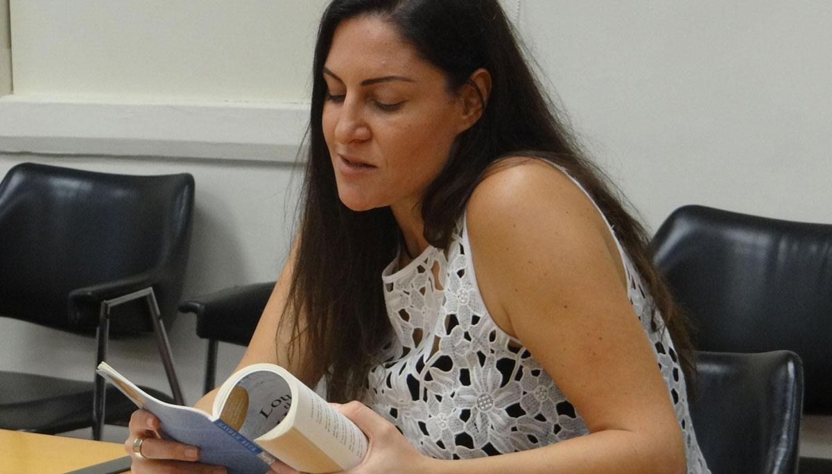Lau Sas English Department News Department Of English Hosts Poetry Reading By Zeina Hashem Beck